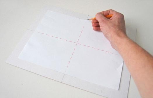 линии на листе
