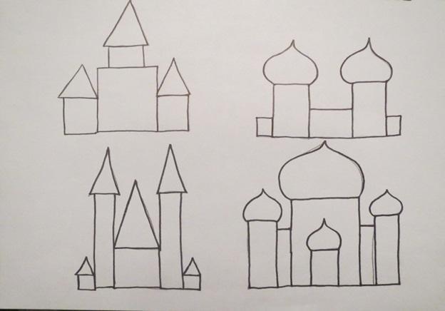 восточные купола
