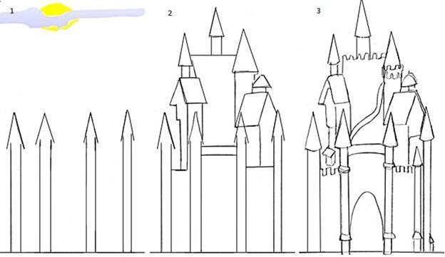крепость с забором