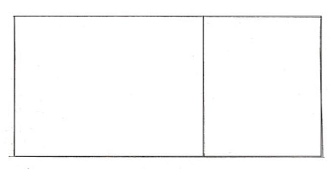 два прямоугольника