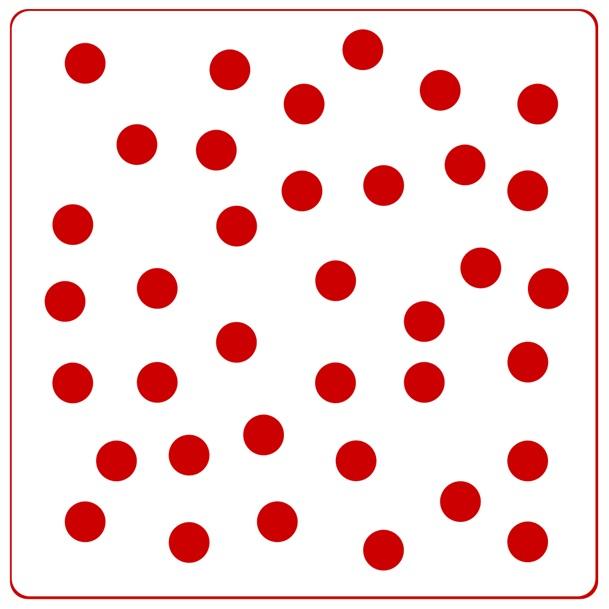 красные точки