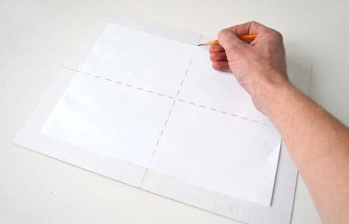 разделить лист