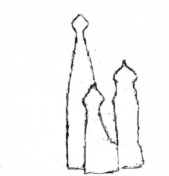 очертания башен