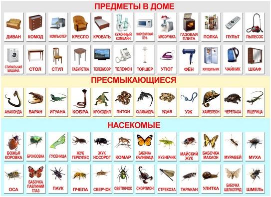 предметы в доме