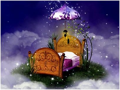 сказочная кровать