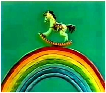 лошадка на радуге