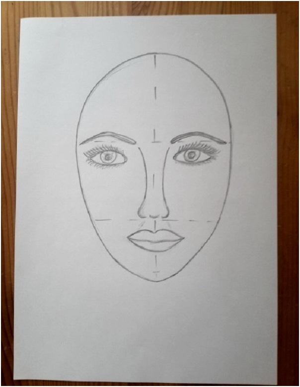 нарисовать губы