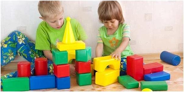 пластмассовые кубики