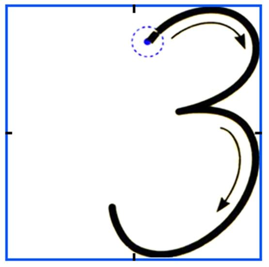 писать тройку