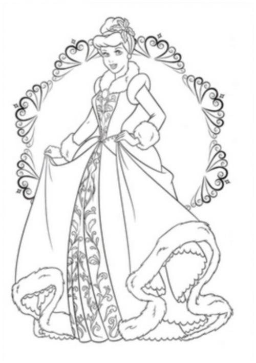 в бальном платье