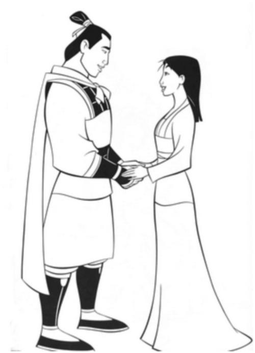 Мулан с принцем