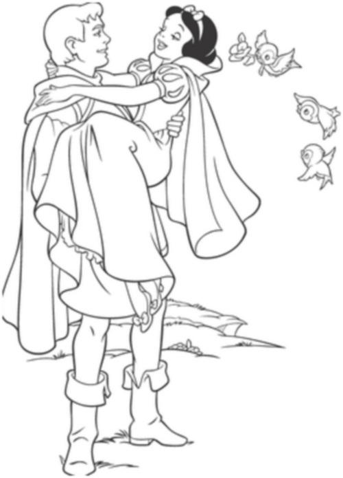 Белоснежка и принц