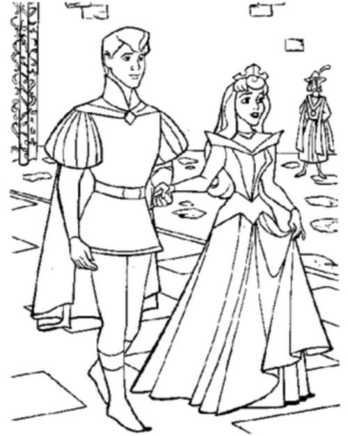 Аврора и принц