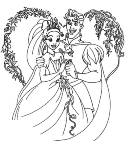 Тиана и принц
