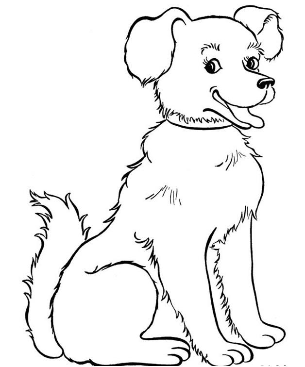 рисовать собаку