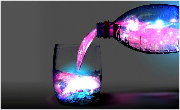 малиновая жидкость