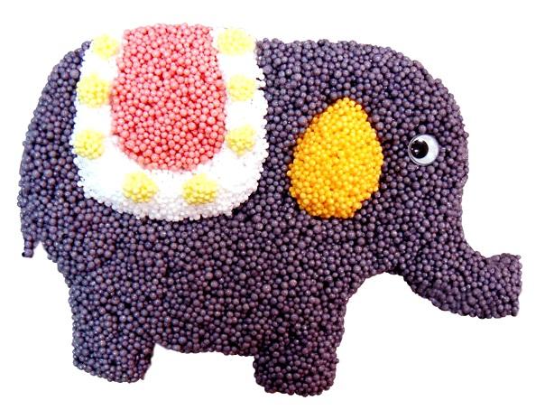 необычный слоник