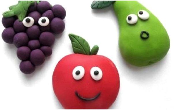 разные фрукты