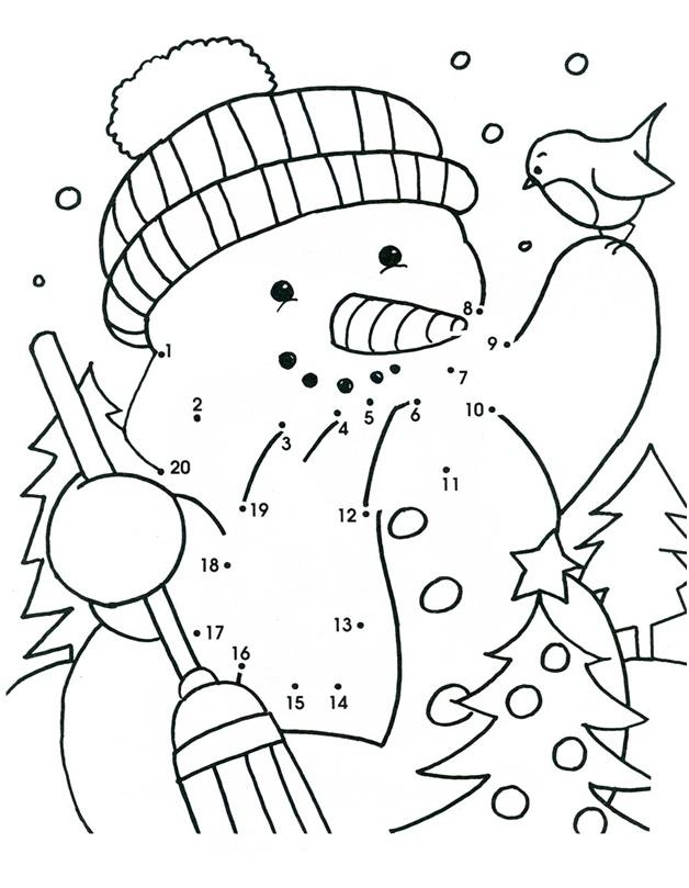 интересный снеговик