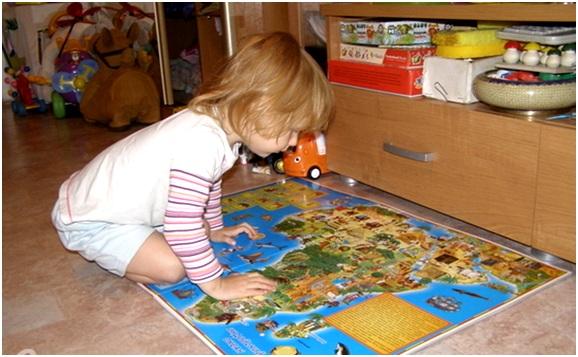 малыш и карта