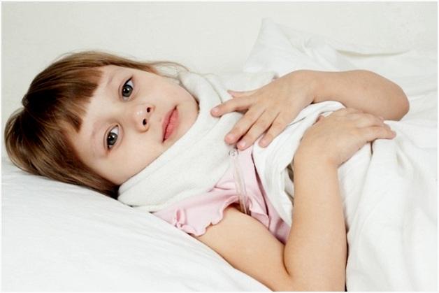 Согревающий компресс при кашле для детей