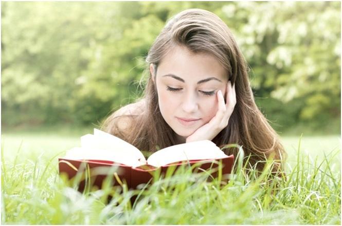 читать на природе