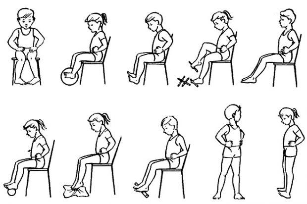 Упражнения от плоскостопия для подростков